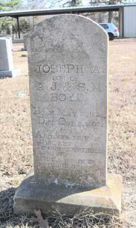 BOYD, JOSEPH A - Pulaski County, Arkansas | JOSEPH A BOYD - Arkansas Gravestone Photos