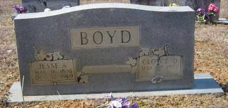 BOYD, JESSE A - Pulaski County, Arkansas | JESSE A BOYD - Arkansas Gravestone Photos