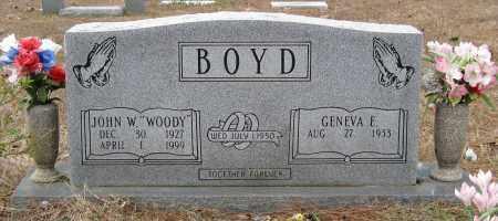"BOYD, JOHN W ""WOODY"" - Pulaski County, Arkansas | JOHN W ""WOODY"" BOYD - Arkansas Gravestone Photos"