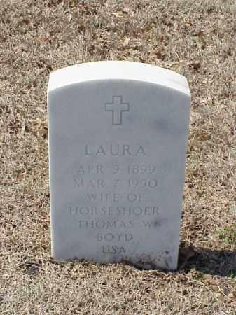 BOYD, LAURA - Pulaski County, Arkansas | LAURA BOYD - Arkansas Gravestone Photos