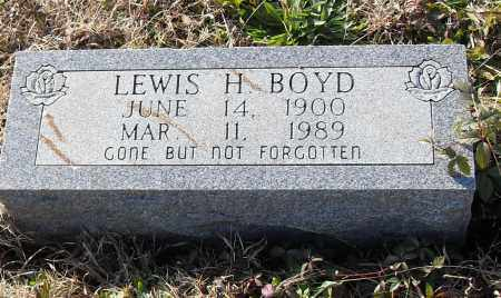BOYD, LEWIS H. - Pulaski County, Arkansas | LEWIS H. BOYD - Arkansas Gravestone Photos