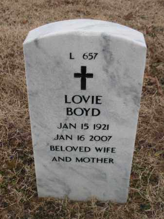 BOYD, LOVIE - Pulaski County, Arkansas   LOVIE BOYD - Arkansas Gravestone Photos