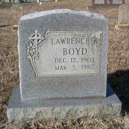 BOYD, LAWRENCE K - Pulaski County, Arkansas | LAWRENCE K BOYD - Arkansas Gravestone Photos