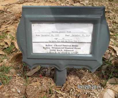 BOYD, MARTHA JEWELL - Pulaski County, Arkansas | MARTHA JEWELL BOYD - Arkansas Gravestone Photos