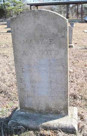 BOYD, MARY E - Pulaski County, Arkansas   MARY E BOYD - Arkansas Gravestone Photos