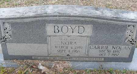 NOLAN BOYD, CARRIE - Pulaski County, Arkansas | CARRIE NOLAN BOYD - Arkansas Gravestone Photos