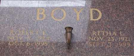 BOYD, ROBERT E - Pulaski County, Arkansas | ROBERT E BOYD - Arkansas Gravestone Photos