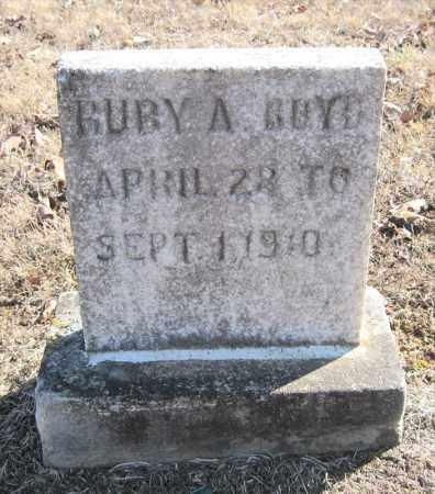 BOYD, RUBY A - Pulaski County, Arkansas | RUBY A BOYD - Arkansas Gravestone Photos