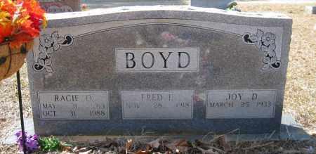 BOYD, RACIE - Pulaski County, Arkansas | RACIE BOYD - Arkansas Gravestone Photos