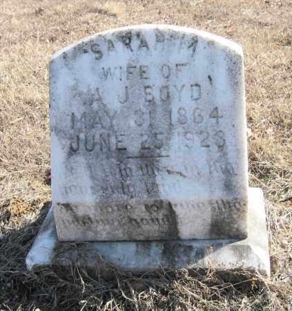 BOYD, SARAH M - Pulaski County, Arkansas | SARAH M BOYD - Arkansas Gravestone Photos