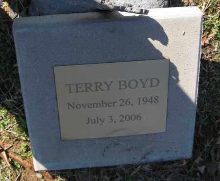BOYD, TERRY - Pulaski County, Arkansas | TERRY BOYD - Arkansas Gravestone Photos