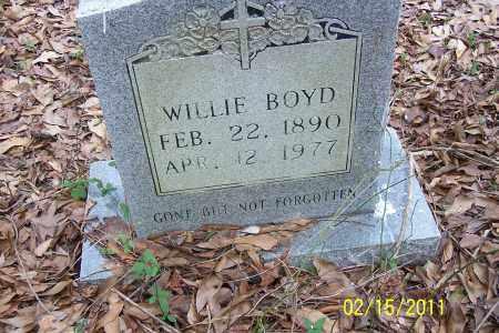 BOYD, WILLIE - Pulaski County, Arkansas | WILLIE BOYD - Arkansas Gravestone Photos