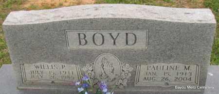 BOYD, PAULINE M - Pulaski County, Arkansas | PAULINE M BOYD - Arkansas Gravestone Photos