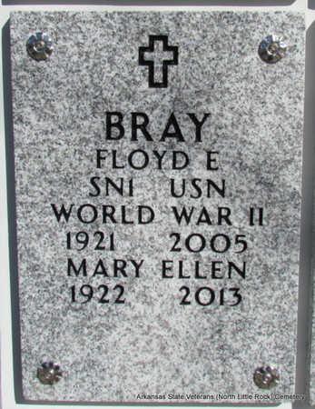 BRAY, MARY ELLEN - Pulaski County, Arkansas   MARY ELLEN BRAY - Arkansas Gravestone Photos