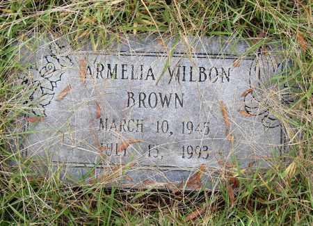 BROWN, ARMELIA - Pulaski County, Arkansas | ARMELIA BROWN - Arkansas Gravestone Photos