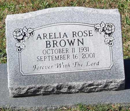 BROWN, ARELIA - Pulaski County, Arkansas | ARELIA BROWN - Arkansas Gravestone Photos