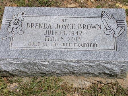 BROWN, BRENDA JOYCE - Pulaski County, Arkansas   BRENDA JOYCE BROWN - Arkansas Gravestone Photos