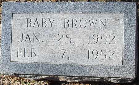 BROWN, BABY - Pulaski County, Arkansas   BABY BROWN - Arkansas Gravestone Photos