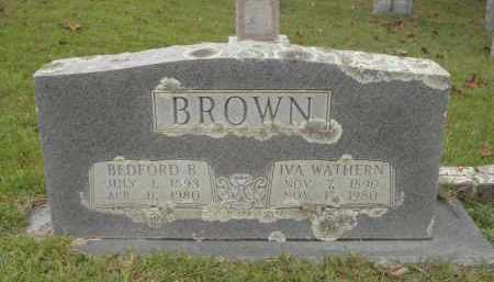 BROWN, BEDFORD BEELER - Pulaski County, Arkansas | BEDFORD BEELER BROWN - Arkansas Gravestone Photos