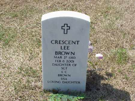 BROWN, CRESCENT LEE - Pulaski County, Arkansas | CRESCENT LEE BROWN - Arkansas Gravestone Photos