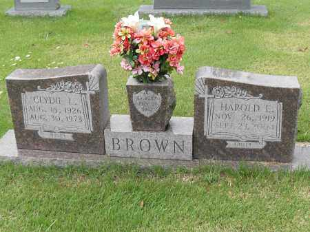 BROWN, CLYDIE L. - Pulaski County, Arkansas | CLYDIE L. BROWN - Arkansas Gravestone Photos