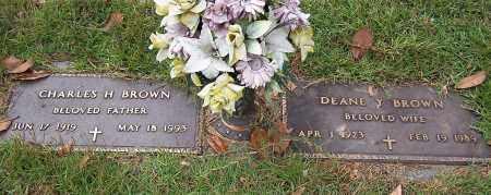 BROWN, DEANE Y. - Pulaski County, Arkansas | DEANE Y. BROWN - Arkansas Gravestone Photos