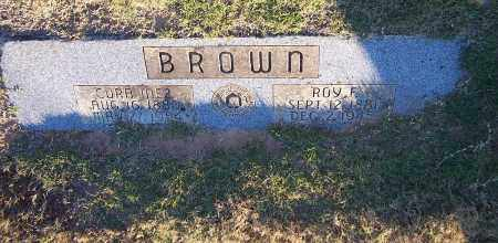 BROWN, CORA INEZ - Pulaski County, Arkansas | CORA INEZ BROWN - Arkansas Gravestone Photos