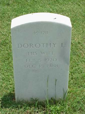 BROWN, DOROTHY L - Pulaski County, Arkansas | DOROTHY L BROWN - Arkansas Gravestone Photos