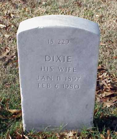 BROWN, DIXIE - Pulaski County, Arkansas   DIXIE BROWN - Arkansas Gravestone Photos
