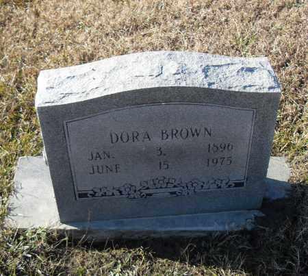 BROWN, DORA - Pulaski County, Arkansas   DORA BROWN - Arkansas Gravestone Photos
