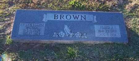 BROWN, EVELYN LOUISE - Pulaski County, Arkansas | EVELYN LOUISE BROWN - Arkansas Gravestone Photos