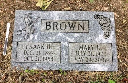 BROWN, MARY E. - Pulaski County, Arkansas | MARY E. BROWN - Arkansas Gravestone Photos