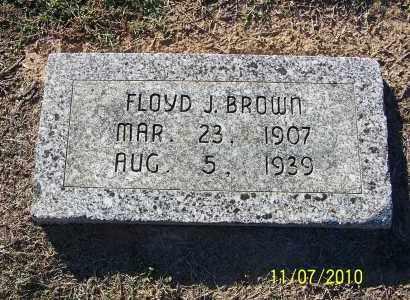 BROWN, FLOYD J - Pulaski County, Arkansas | FLOYD J BROWN - Arkansas Gravestone Photos