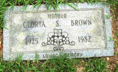 BROWN, GLORIA S - Pulaski County, Arkansas | GLORIA S BROWN - Arkansas Gravestone Photos