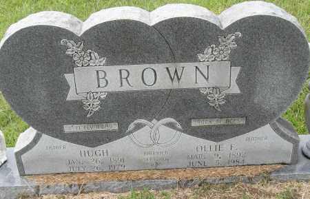 BROWN, HUGH - Pulaski County, Arkansas | HUGH BROWN - Arkansas Gravestone Photos