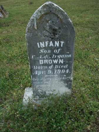 BROWN, INFANT - Pulaski County, Arkansas   INFANT BROWN - Arkansas Gravestone Photos