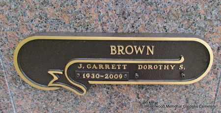 BROWN, J GARRETT - Pulaski County, Arkansas   J GARRETT BROWN - Arkansas Gravestone Photos