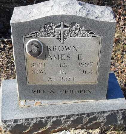 BROWN, JAMES E - Pulaski County, Arkansas | JAMES E BROWN - Arkansas Gravestone Photos