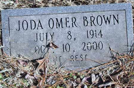 BROWN, JODA OMER - Pulaski County, Arkansas | JODA OMER BROWN - Arkansas Gravestone Photos
