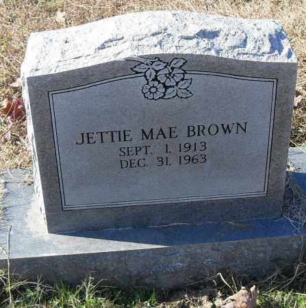 BROWN, JETTIE MAE - Pulaski County, Arkansas | JETTIE MAE BROWN - Arkansas Gravestone Photos