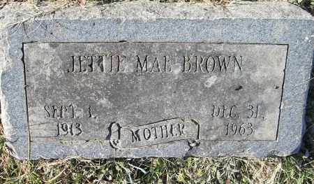 BROWN, JETTIE MAE (2 STONES) - Pulaski County, Arkansas   JETTIE MAE (2 STONES) BROWN - Arkansas Gravestone Photos