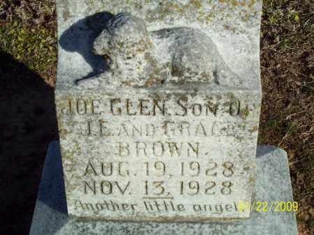 BROWN, JOE GLEN - Pulaski County, Arkansas | JOE GLEN BROWN - Arkansas Gravestone Photos