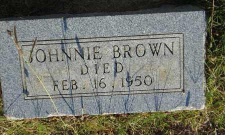 BROWN, JOHNNIE - Pulaski County, Arkansas   JOHNNIE BROWN - Arkansas Gravestone Photos
