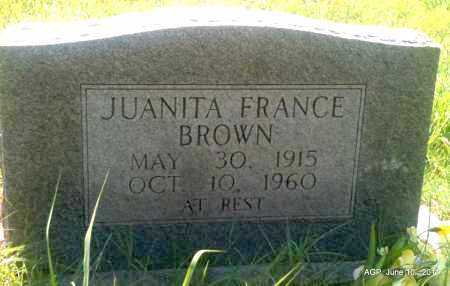 BROWN, JUANITA - Pulaski County, Arkansas | JUANITA BROWN - Arkansas Gravestone Photos