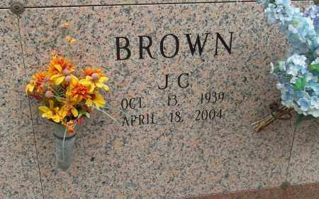 BROWN, J C - Pulaski County, Arkansas | J C BROWN - Arkansas Gravestone Photos