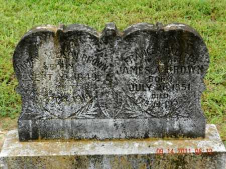 BROWN, FRAMCES TABITHA - Pulaski County, Arkansas | FRAMCES TABITHA BROWN - Arkansas Gravestone Photos