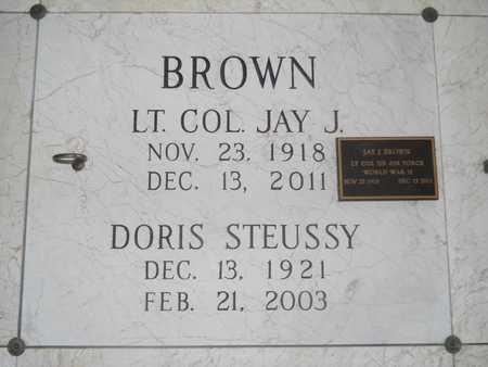 BROWN, JAY J - Pulaski County, Arkansas | JAY J BROWN - Arkansas Gravestone Photos