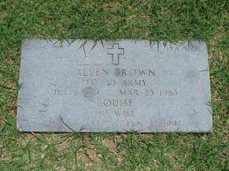 BROWN, LOUISE - Pulaski County, Arkansas   LOUISE BROWN - Arkansas Gravestone Photos