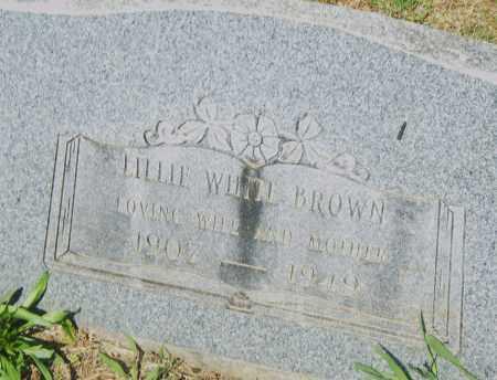 BROWN, LILLIE - Pulaski County, Arkansas | LILLIE BROWN - Arkansas Gravestone Photos