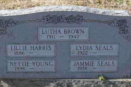 BROWN, LUTHA - Pulaski County, Arkansas | LUTHA BROWN - Arkansas Gravestone Photos